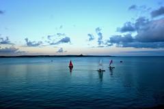 Penzance (plot19) Tags: uk blue sunset sea england seascape water sunrise landscape boats photography coast seaside cornwall britain sony south cornish penzance rx100 plot19