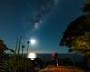 Taking it all in (nightscapades) Tags: sky moon beach night stars coast bush sydney australia galaxy astrophotography astronomy nightscapes milkyway selfie garie royalnationalpark gariebeach gymealilies as galacticcore nightscapades