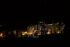 Banff Springs Hotel (ryan.kole32) Tags: city nightphotography canada building beauty night landscape lights nationalpark nightscape sony alberta banff banffnationalpark banffspringshotel banffsprings architechure bursts banffalberta beautyinnature lightbursts sonya77