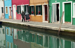 Love in colors (Croix-roussien) Tags: venice italy color love couleur burano
