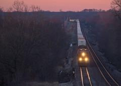 BNSF 6598 West, Bostworth, Missouri (trainfan1) Tags: trains intermodal es44dc es44ac transcon es44 es44c4 bnsf6598