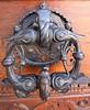 Praha, HR, čp. 001, Starý královský palác (ladabar) Tags: detail erotic prague prag praha doorknocker dveře klepadlo pragdetail