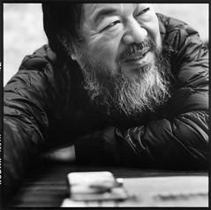 Ai Weiwei, Berlin 2016 (Alfred Weidinger) Tags: berlin 6x6 mamiya tlr artist kodak trix 400 ai mamiyac330 weiwei c330 aiweiwei c330f