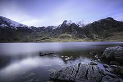 Idwal 3 (Nailsinhead) Tags: lake rock slowshutter snowdonia idwal