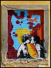 Lagos (abudulla.saheem) Tags: art portugal lumix kunst lagos panasonic graffito algarve girlandboy mdchenundjunge abudullasaheem dmctz31