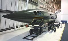V2 rocket inside RAF Museum, Hendon 05.03.16 (Trevor Bruford) Tags: london museum hall force britain aviation military air wwii battle german rocket v2 raf luftwaffe hendon