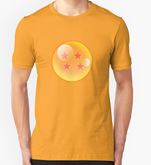 Dragon Ball 4 stars t-shirt (Memes, T-Shirts) Tags: ball funny dragon geek tshirt gifts z tshirts merch tee dbz