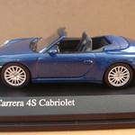 2008 Porsche 911 Carrera 4S Cabriolet (Blue Metallic)