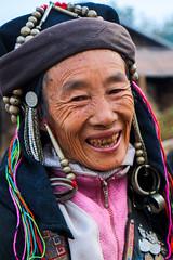Gandalf's grandma 2 (Laura Jacobsen) Tags: laos hilltribe akha phongsaly phongsali akhanoukouy