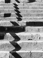 Stairway & shadows 3 (photodesignette) Tags: treppe schatten abstrakt treppenstufen