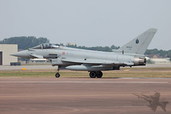Eurofighter EF2000 MM7299 (Newdawn images) Tags: plane airplane aircraft aviation military jet airshow eurofighter 441 jetfighter riat airdisplay italianairforce raffairford militaryjet canonef100400mmf4556lisusm ef2000 canoneos5dmarkii 4stormo mm7299