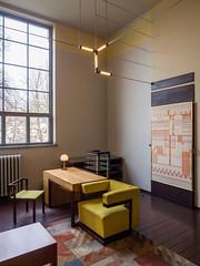 Walter Gropius' office at the Weimar Bauhaus, 1924 (lars_uhlig) Tags: museum modern germany deutschland weimar office modernism moderne bauhaus gropius 2016 direktor direktorenzimmer