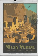 CO - Mesa Verde National Park (kandilareyna) Tags: poster postcard adg andersondesigngroup