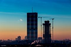 Citylife all'alba (Obliot) Tags: skyline italia alba milano it lombardia marzo 2016 montestella obliot