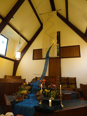 DSC04288 (Michael S in Seattle) Tags: sacredspace worshiparts wallingfordumc sanctuarydecorations easter2016 riverofbaptism