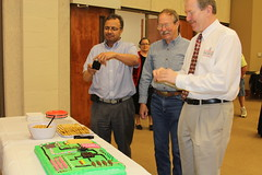 Bill Blum retires (UGA College of Ag & Environmental Sciences - OCCS) Tags: party cake bill technology computers motherboard information retirement blum ugagriffincampus