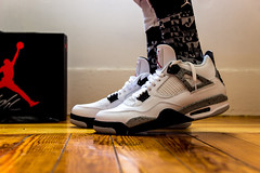 """CEMENT"""" 4s (PJC Photography) Tags: canon cement sigma nike nikeair airjordan sigma1750mm airjordan4 canont3i"""
