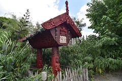 Te Parapara and a Pātaka (D70) Tags: from new food house home gardens garden is traditional hamilton down been storage passed only knowledge production local te maori generations drawn which has materials practices zealands ceremonies the productive showcases parapara relating teparapara pātaka