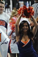 DANCING FOR THE WAHOOS (SneakinDeacon) Tags: basketball cheerleaders providence tournament ncaa uva wahoos friars cavaliers bigeast hoos pncarena