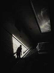 (Stevenchen912) Tags: shadow bw composition contrast blackwhite geometry candid streetscene streetphoto urbanlife cadid streetcandid