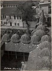 Great Mosque, Adana (SALT Research) Tags: architecture courtyard dome adana mimari rooftile kubbe avlu kiremit saltaraştırma saltresearch saltonline adanaulucamii