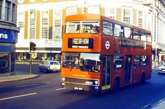 Slide 049-16 (Steve Guess) Tags: uk england london transport surrey kingston gb metrobus mcw m66 clarencestreet