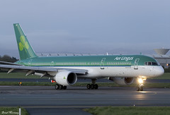 Aer Lingus 757-200 EI-LBR (birrlad) Tags: ireland dublin toronto airplane stand airport taxi aircraft aviation airplanes landing international airline boeing arrival airways airlines runway shamrock landed dub aerlingus 757 airliner arriving taxiway b757 757200 7572q8 aircontractors b752 ei128 eilbr