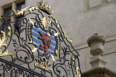 Armoiries du Grand-Duch (Djof) Tags: heraldry coatofarms lion crest luxembourg blazon heraldique luxembourgcity armoirie grandduchyofluxembourg grandduchdeluxembourg palaisgrandducal grandducalpalace