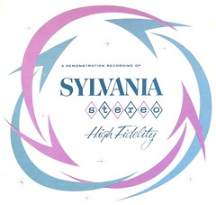 SYLVANIA Stereo High Fidelity (hmdavid) Tags: art illustration vintage design high album demonstration stereo lp record atomic recording midcentury sylvania fidelity