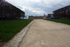 Le parc vient de fermer  chteau de Saint-Germain-en-Laye, 3 avril 2016 (Stphane Bily) Tags: france ledefrance chteau saintgermainenlaye alle caste yvelines