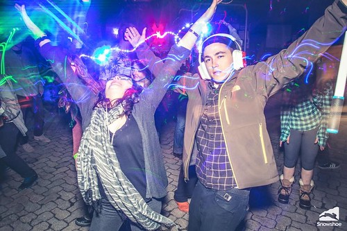 """Photo credit: Kurtis Schachner. Taken at the silent disco at Snowshoe Mountain featuring DJ V. Powered by Silent Storm • <a style=""""font-size:0.8em;"""" href=""""http://www.flickr.com/photos/33177077@N02/25968514885/"""" target=""""_blank"""">View on Flickr</a>"""