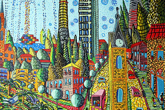 zentangle city landscape   artist raphael perez zen tangle drawing colorful paintings with many details tutorial pattern artists (iloveart106) Tags: white black game kids children happy for kid colorful paint pattern image pages drawing free drawings pic artists page childrens draw tutorial artworks famouse collorfull collorful pictuer calorful whiste zentangle famuse collorfuul