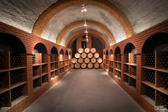 Sala de los consejeros (undeklinable) Tags: espaa underground spain wine bodega tunnels cellar tuneles vino winecellar protos peafiel