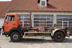 MB NG 1622 (Vehicle Tim) Tags: orange truck mercedes ng mb lkw laster wlf komunal wechsellader