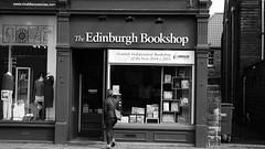 Edinburgh Bookshop (byronv2) Tags: blackandwhite bw monochrome shop book scotland blackwhite store edinburgh books bookstore bookshop morningside livres bookstores libreria librairie bruntsfield edimbourg holycorner librerias bruntsfieldplace edinburghbookshop