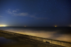 Old PCH (Joseph Kennelty) Tags: ocean longexposure beach night stars losangeles photographer pch josephkennelty