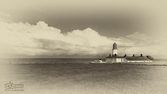 Souter Lighthouse (solidtext) Tags: blackandwhite lighthouse clouds landscape antique southshields marsden souter whitburn souterlighthouse tokina1116f28 nikond7000