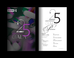 Graphic identity for the SpeakEasy Stage 25th Anniversary Gala (Cahoots Design) Tags: party art field boston modern spring glamour community theater respect audience theatre contemporary stage text arts celebration company identity event musical responsibility talent production benefit visual brand gala luxury depth collaboration branding courage nonprofit speakeasy excellence cahoots relevant inclusion cahootsdesign artsbranding