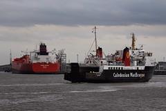 Isle of Arran (das boot 160) Tags: sea ferry port liverpool docks river boats boat dock ship ships birkenhead maritime calmac ferries isleofarran mersey docking lairds rivermersey cammelllairds bulker merseyshipping scottishferries