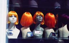 All aboard (Arne Kuilman) Tags: old film amsterdam hair iso200 minolta 28mm grain 2006 scan wigs analogue expired kodakgold expiredfilm haar xg1 probel pruiken dreamhair