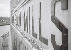 Mill Birds ? (bigalid) Tags: bw mill newcastle gallery nest kodak seagull baltic gateshead april kodakbw400cn 2016 bw400cn c41 olympuspenee2