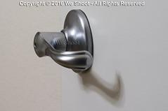 Lever-Style Door Handle (weeviltwin) Tags: door color metal architecture silver handle pull metallic interior architectural arthritis leverage lever latch arthritic weshootcom