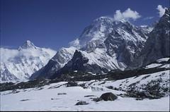 K2_0628419 Broad Peak and K2 (ianfromreading) Tags: pakistan concordia k2 karakoram