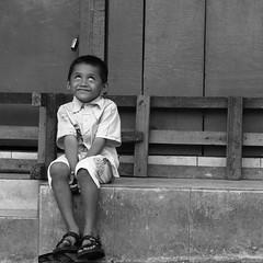 Kids (graha.nurdian) Tags: street people bw white black photography malang splendid