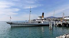 Le Vevey (Diegojack) Tags: nikon riviera bateaux navigation vevey montreux quais belleepoque nikonpassion d7200