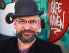 Alec (jeffcbowen) Tags: street toronto style alec stranger moustache thehumanfamily