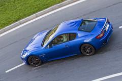 Maserati Gran Turismo (80sChiyuld) Tags: blue car canon italian automobile transport automotive vehicle supercar maserati doha pininfarina maseratigranturismo carsofqatar