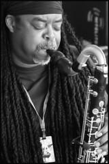 JAZZMAN (worldwotcha) Tags: show music concert stage jazz saxaphone sax courtneypine