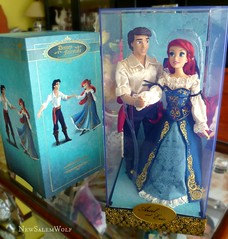 ** Ariel & Eric Fairytale Designer Couple ** (NSW ) Tags: ariel fairytale store couple eric dolls sebastian little designer prince disney mermaid coa ursula triton flounder atlantica newsalemwolf