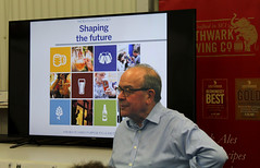 Michael Hardman, one of the four founders of CAMRA and Chairman of the Revitalisation Project (selcamra) Tags: beer camra realale shapingthefuture selcamra revitalisationproject